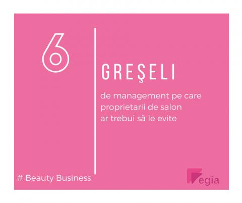Managementul salonului de înfrumusețare