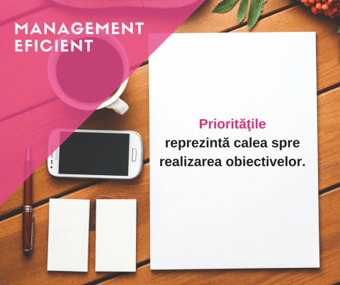 management eficient.prioritati