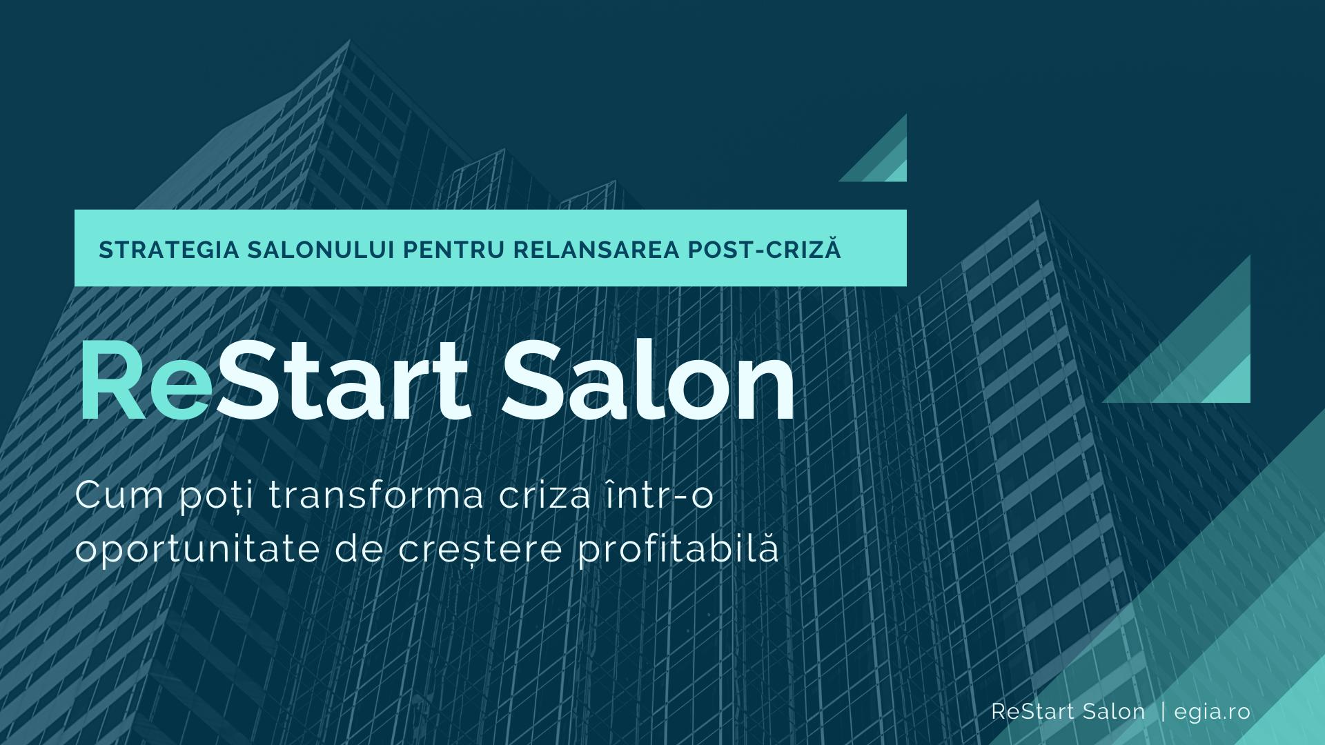 training online ReStart Salon
