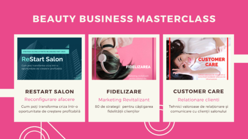 Training online Beauty Business Masterclass