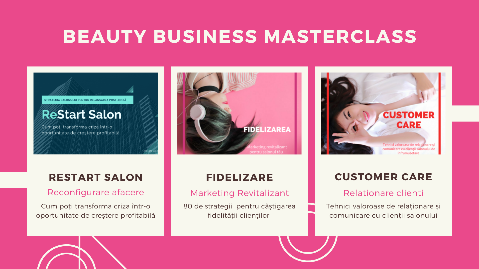 Training online Beauty Business Masterclass